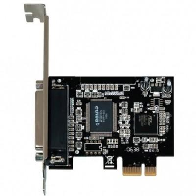BestConnection PCI-E kártya x1 párhuzamos port IO