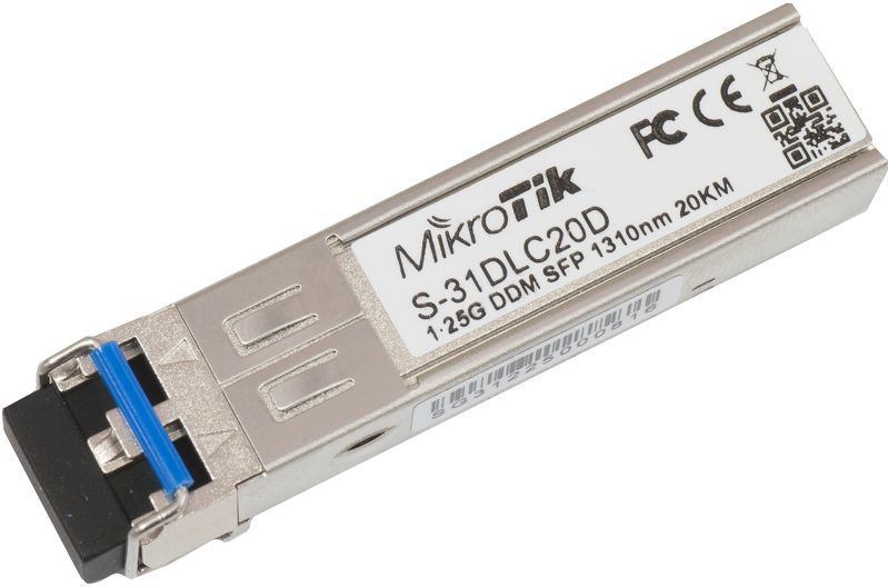 Mikrotik RouterBoard SFP modul 1.25G SM 20km 1310nm