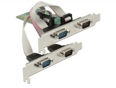 DeLock PCI Express Card > 4x Serial RS-232