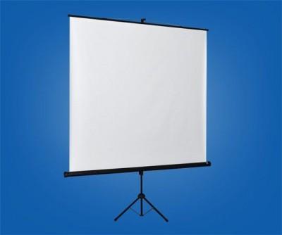 Bydium Matt White Tripod 240x240 cm Format 1:1