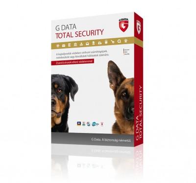 G Data Total Security 3 felhasználó 1 év online HUN