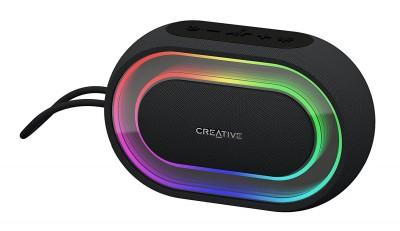 Creative Halo Portable Bluetooth Speaker Black