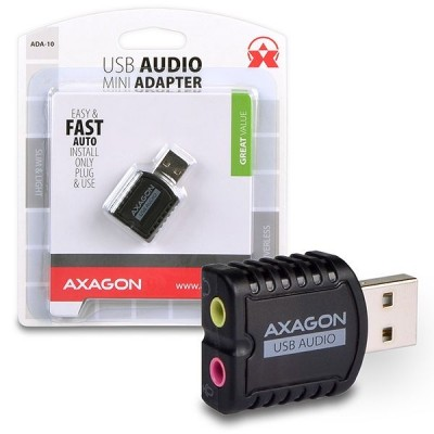 AXAGON ADA-10 USB Mini Audio