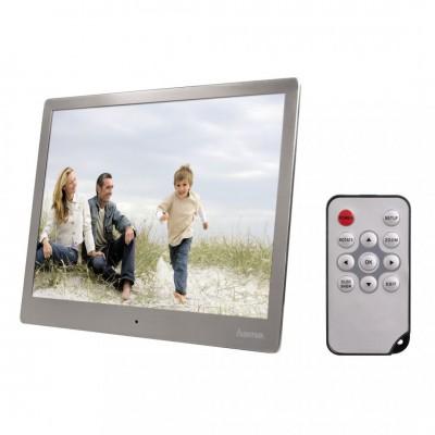 "Hama 97SLB"" Digital Photo Frame 9,7"" Slim Steel Silver"