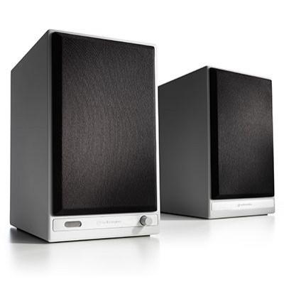 Audioengine HD6 Wireless Speakers 2.0 High-Gloss White