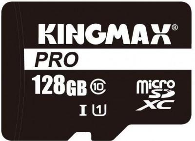 Kingmax 128GB microSDXC Pro Class 10 UHS-I + adapterrel