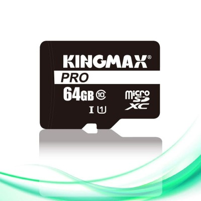Kingmax 64GB microSDXC Pro Class 10 UHS-I + adapterrel