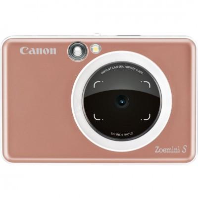 Canon Zoemini S wireless mobil fotónyomtató Rose Gold
