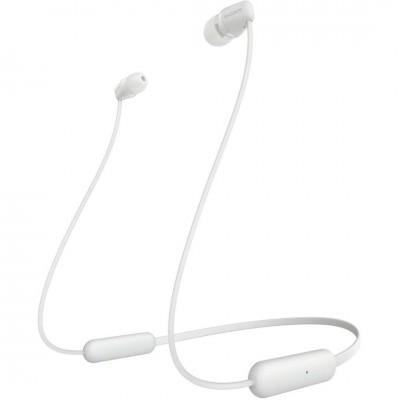 Sony WIC200W Bluetooth Headset White