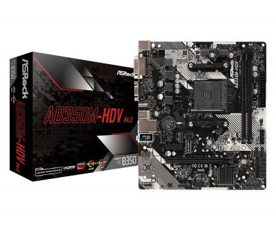 ASROCK AB350M-HDV R4.0