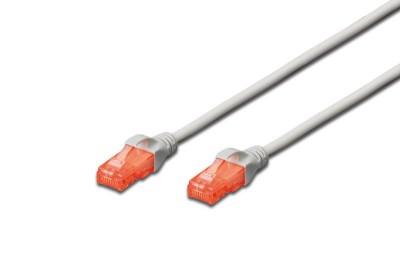 Digitus CAT6 U-UTP Patch Cable 0,25m Grey