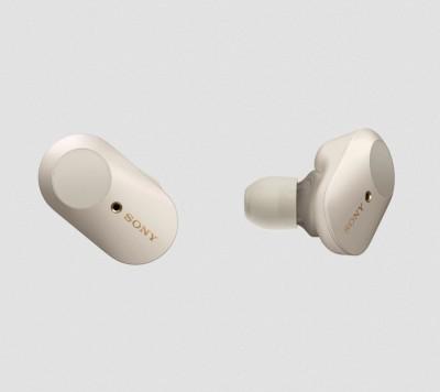 Sony WF1000XM3S Bluetooth True Wireless Headset Silver