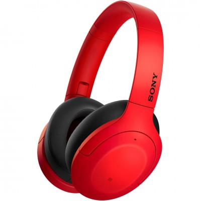 Sony WHH910NR Hear On 3 Wireless Noise Cancelling Headset Red