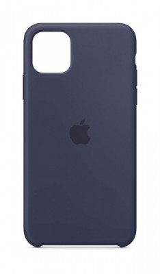 Apple iPhone 11 Pro Max Silicone case Midnight Blue