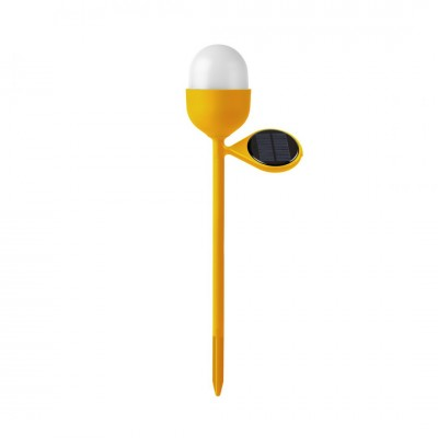 Lexon Clover Garden Solar Lamp Yellow