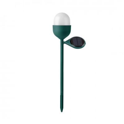 Lexon Clover Garden Solar Lamp Dark Green