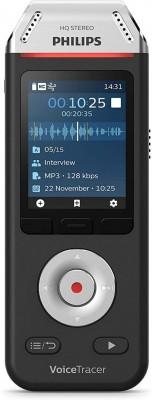 Philips DVT2000 USB Diktafon 8GB Black