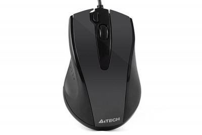 A4-Tech N-500F Wired Mouse Glossy Grey