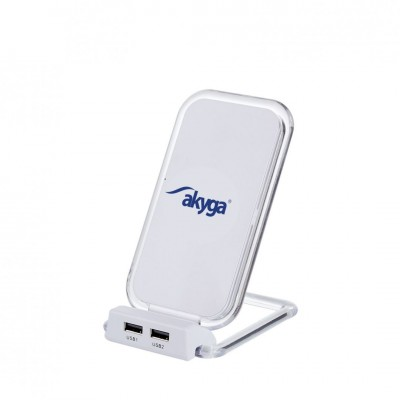 Akyga AK-QI-03 Wireless charger pad White