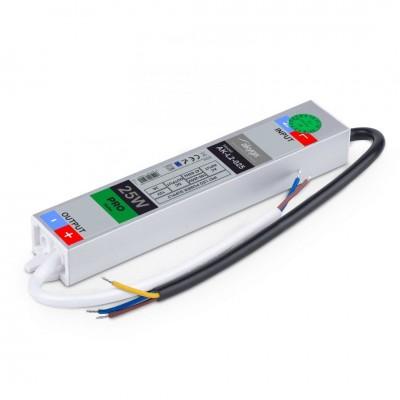 Akyga AK-L2-025 Hermetic LED IP67 power supply 12V/25W