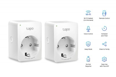 TP-Link Tapo P100 Mini Smart Wi-Fi Socket (2-pack)