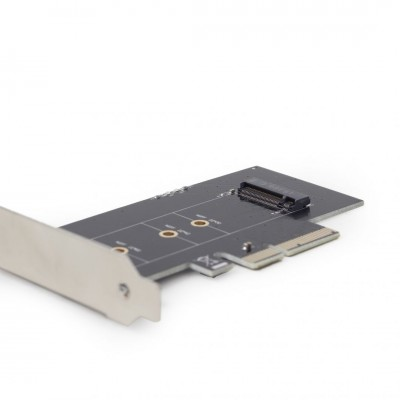 Gembird PEX-M2-01 M.2 SSD adapter PCI-Express add-on card (with extra low-profile bracket)