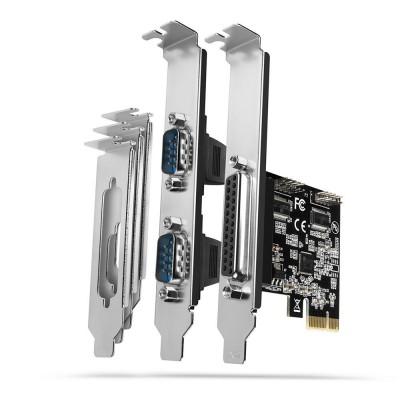 AXAGON PCEA-PSN PCIe 1x paralel + 2x serial