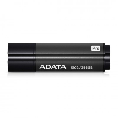 A-Data 256GB Flash Drive S102P USB3.2 Titanium Gray