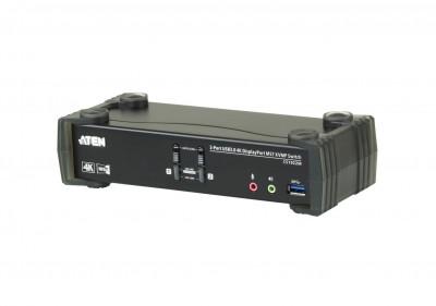 ATEN CS1922M 2-Port USB 3.0 4K DisplayPort MST KVMP Switch