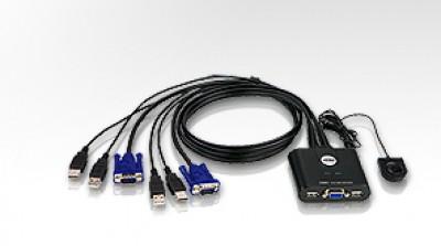 ATEN CS22U KVM Switch/kábel USB 2PC