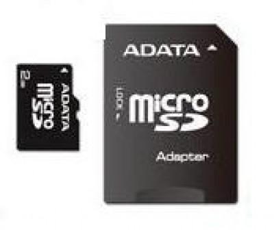 A-Data 32GB MicroSDHC Class 4+ Adapter