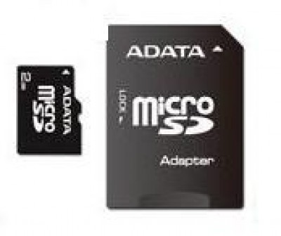 A-Data 8GB MicroSDHC Class 4 + adapterrel
