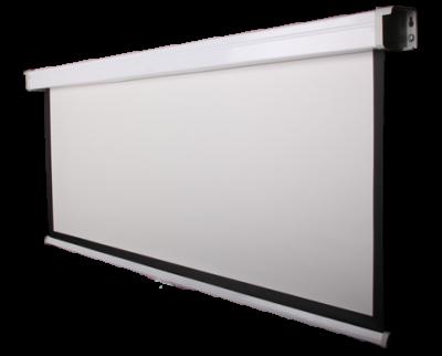 Funscreen Matt White Motor 127x203 cm Format 16:10