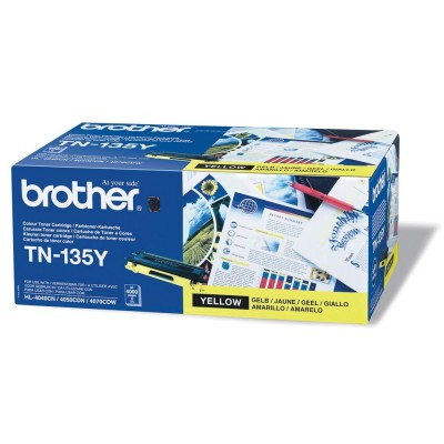 Brother TN-135Y Yellow toner