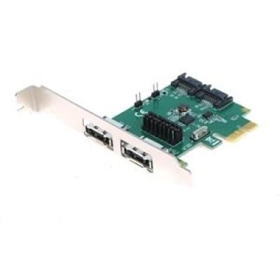BestConnection PCI-Express kártya SATA 6G 2 port