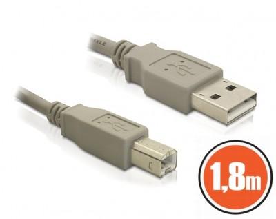 DeLock USB 2.0 A-B male/male 1,8m