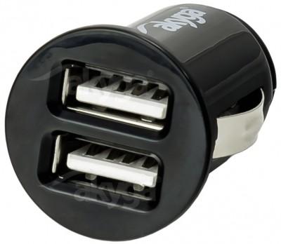 Akyga AK-CH-02 USB Adapter 12-24V/5V/2,1A 2USB
