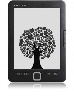 "Alcor Myth 6"" e-book e-ink 4GB"